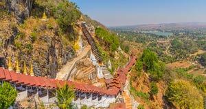 Cavernes de Pindaya Image stock