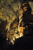 Cavernes de Postojna Photos libres de droits