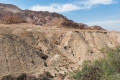 Cavernes de Qumran, la Terre Sainte, Israël photo stock