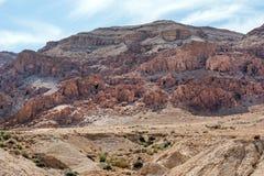 Cavernes de Qumran, la Terre Sainte, Israël images libres de droits