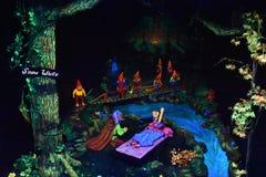 Cavernes de royaume des fées aux jardins de ville de roche à Chattanooga, Tennessee Photo stock