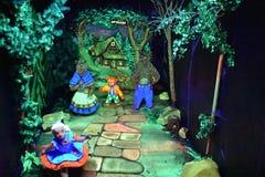Cavernes de royaume des fées aux jardins de ville de roche à Chattanooga, Tennessee Image libre de droits