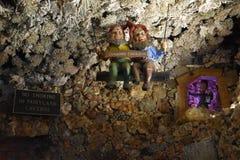 Cavernes de royaume des fées aux jardins de ville de roche à Chattanooga, Tennessee Images stock