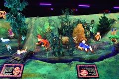 Cavernes de royaume des fées aux jardins de ville de roche à Chattanooga, Tennessee Photographie stock