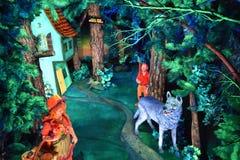 Cavernes de royaume des fées aux jardins de ville de roche à Chattanooga, Tennessee Photos stock