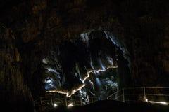 Cavernes de Skocjan, site d'héritage naturel en Slovénie photos libres de droits