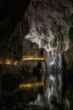 Cavernes de Skocjan, site d'héritage naturel en Slovénie photo libre de droits