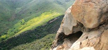 Cavernes de vent de Gaviota Images libres de droits