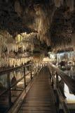 Cavernes en cristal en Bermudes Photographie stock libre de droits