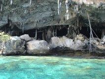Cavernes en Thaïlande Photos stock