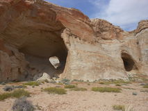 Cavernes, lac Powell images stock