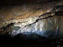 Cavernes préhistoriques de Wildkirchli ou mourir Wildkirchlihöhle Höhlebäre ou Hoehlebaere et Eesidle dans la région d'Appenze images libres de droits
