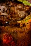 Cavernes souterraines Photo stock