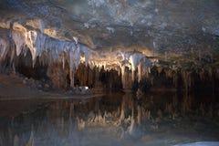 caverns drömm luray shenandoah för laken royaltyfria bilder