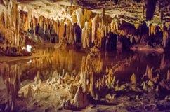 Caverns Luray, Вирджиния Стоковое фото RF