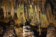 Caverns Luray в Luray, Вирджинии Стоковые Фото