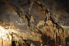 Caverns Luray в Luray, Вирджинии Стоковая Фотография RF