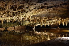 Caverns Luray в Luray, Вирджинии Стоковая Фотография