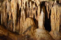 Caverns Luray в Luray, Вирджинии Стоковые Изображения RF