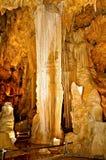 caverns luray virginia Royaltyfria Bilder