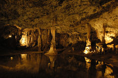 Caves. Macocha Caves in Czech Republic royalty free stock image