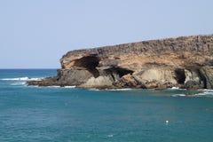Caves of Ajuy Fuerteventura Stock Image