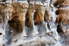 Caves with amazing rock formations Stock Photos