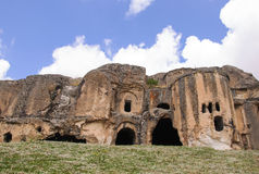 Caves in Anatolia, Turkey Royalty Free Stock Photography