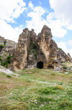 Caves in Anatolia, Turkey Royalty Free Stock Photos