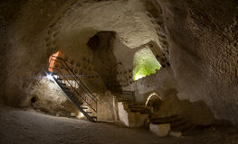 Caves in Beit Guvrin, Israel Stock Photography