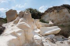 At Bet Guvrin-Maresha National Park, Israel. Caves at Bet Guvrin-Maresha National Park, Israel Royalty Free Stock Image