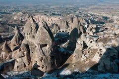 Caves of Cappadocia Stock Image
