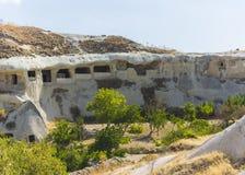 Caves in cappadocia Stock Image