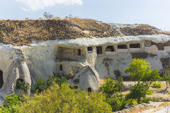 Caves in cappadocia Royalty Free Stock Photos