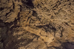 Caves and cave formations in the canyon of the river next to Bor Royalty Free Stock Photography