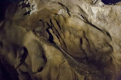 Caves and cave formations in the canyon of the river next to Bor. In Serbia Royalty Free Stock Photos