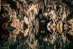 Caves Cenote Labnaha, Riviera Maya, Mexico stock photo