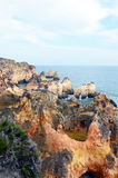 Caves and cliffs Royalty Free Stock Photos