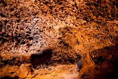 Caves Cueva de los Verdes, Lanzarote Fotografie Stock