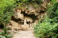 Caves at Devil Bridge Stock Photos