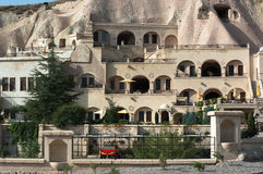 Caves Dwellings In Cappadocia royalty free stock photography