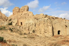 Caves of Guadix, Spain Stock Photos