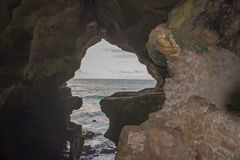 Caves of Hercules Cape Spartel, Tangier. Morocco stock photo