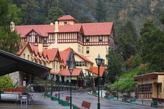 Caves House at Jenolan Caves in Blue Mountains stock photo