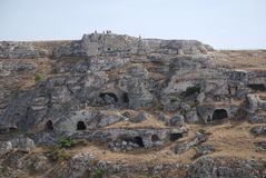 Caves at Matera Stock Image