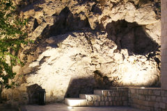 Caves near Quran Gate Royalty Free Stock Images