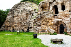 Caves at Nottingham. In UK Stock Image