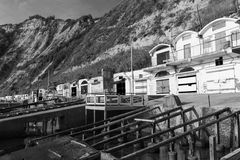 The caves of the Passetto Stock Images