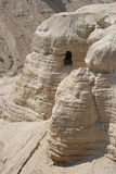THE CAVES OF QUMRAN Stock Images