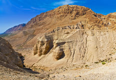 Caves of Qumran, Israel Royalty Free Stock Photo
